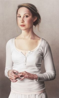 Anna, pastel chalk portrait by Simone Bingemer