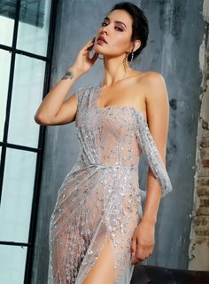 Buy Fleepmart Silver Cross Cut Out Straps Glitter Glued Material Long Dress at fleepmart.com! Free shipping to 185 countries. 45 days money back guarantee.