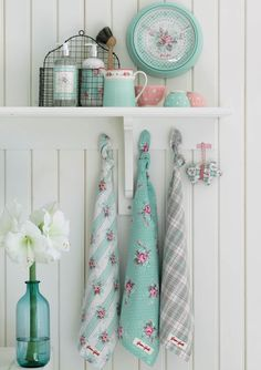 Greengate Christmas Decorations and Paper Tape from the Sandy Mint Winter 2012 Collection
