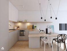 Aneks kuchenny w bieli i szarościach - zdjęcie od YONO Architecture