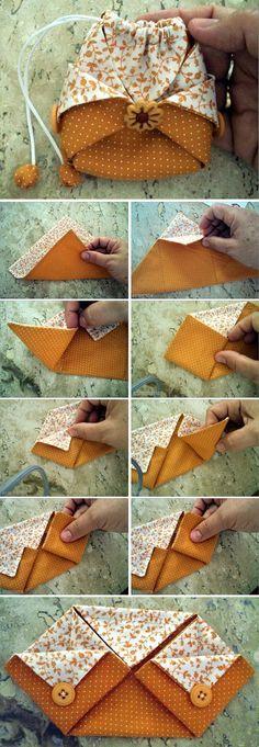 Tutorial sacchetto origami...molto ben spiegato su sito originale