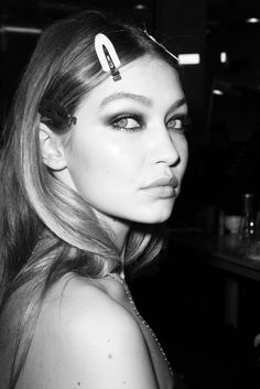 m-a-g-n-e-t-i-c-e-y-e-s:   Gigi Hadid backstage at... - long live the city