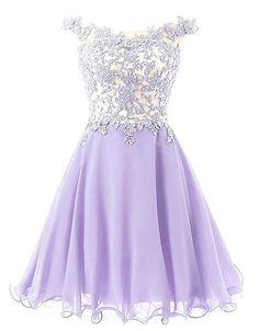 Elegant Lace Homecoming Dress,Appliques Homecoming Dresses,Off-the-Shoulder Homecoming Dress
