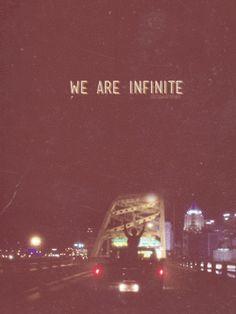 we are infinite