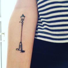 A lamppost from Narnia (The Chronicles of Narnia series, written by C. S. Lewis) http://writersrelief.com/