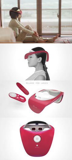 What lady doesn't love a spa day?! But with our modern schedules, who has time to go regularly? Bring the zen to you with Relaxee, a virtual reality/massage headset designed just for the ladies. Read Full Story at Yanko Design