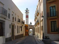 Rota, Spain.  My hubby lived on this street.  I cannot wait to go to Rota!