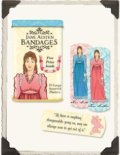 JANE AUSTEN BANDAGES