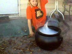 Halloween Smoking Cauldron - YouTube
