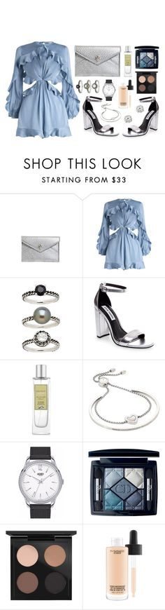 """Pearl flutter"" by sophiehackett ❤ liked on Polyvore featuring Alexander McQueen, Zimmermann, Honora, Laura Mercier, Michael Kors, Henry London, Christian Dior and MAC Cosmetics"