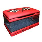 Found it at Wayfair - Magical Race Cars Toy Box in Red
