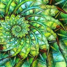fractalline forest —