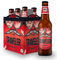 Time Traveler Shandy - wheat beer brewed with real strawberry