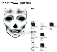 TONS of MAC Halloween FACE CHARTS - Beautynewbie