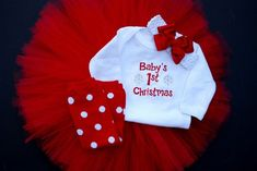 newborn christmas outfits | ... Christmas Costumes, Dresses & Outfit Ideas 2012 For Newborn Baby Girls