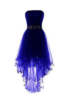 Royal Blue Tulle High Low Scoop Homecoming Dresses, Blue Party Dress, Shop plus-sized prom dresses for curvy figures and plus-size party dresses. Ball gowns for prom in plus sizes and short plus-sized prom dresses for Cute Prom Dresses, Grad Dresses, Sexy Dresses, Beautiful Dresses, Fashion Dresses, Elegant Dresses, Awesome Dresses, Summer Dresses, Wedding Dresses