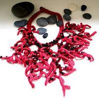 corallana -  coral necklace