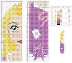 Rapunzel Tangled - Disney pattern: