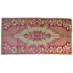 Plastik- Teppich 90x180 cm gefaltet, Muster 9 - o.k. Versand