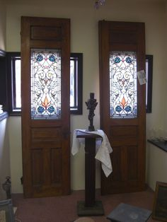 Antique doors furniture for sale in pennsylvania oley valley antique stained glass doors circa 1880 fabulous planetlyrics Gallery