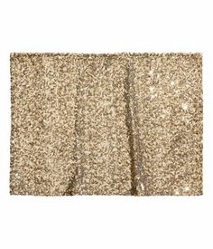 Gold glitter placemats for golden 29th?? | H&M US