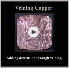 "#4 in the ""Copper Finishes & Texturing"" series"