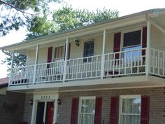 New custom made balcony railing