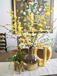 A Stroll Thru Life: Adding Some Spring To The Dining Room