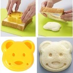 Fancytoy 1pcs Cute DIY Bear Sandwich Mold Toast Bread Stamp Mold Cutter Tool Kit