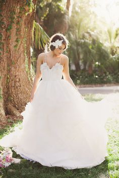 ethereal hayley paige gown