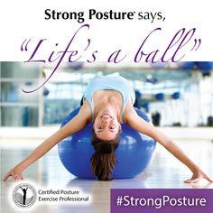 We hope you took steps during Posture Month to make a change! People who regularly do StrongPosture exercises report improvement with problems ranging from knee pain to headaches, and say they even feel, and sometimes look, taller and thinner - Posture Exercises, Improve Posture, Knee Pain, Workout Programs, Health And Wellness, Strong, Personal Care, Feelings, Fun