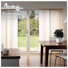 Buen martes! Si tienes grandes ventanas o puertas corredizas nuestras persianas Panel Track serán tu mejor elección. Contáctanos por inbox y te cotizamos con gusto. - http://ift.tt/1QIZuz0
