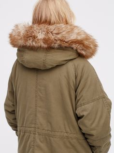 Golden Quills Military Parka at Free People Clothing Boutique ...