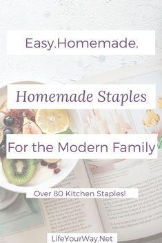 Easy Homemade staple