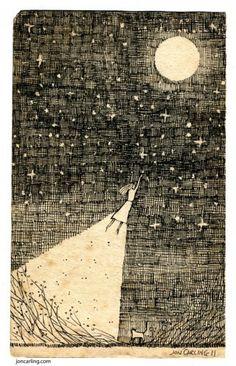 | moon via Fernando Baeza Ponsoda