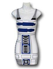 Star Wars Juniors R2D2 Costume Tank Top
