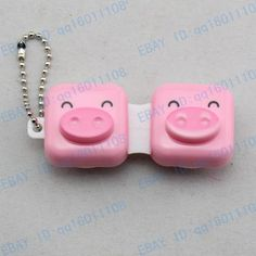 Cute Animal Face Contact Lens Case Holder Box C23