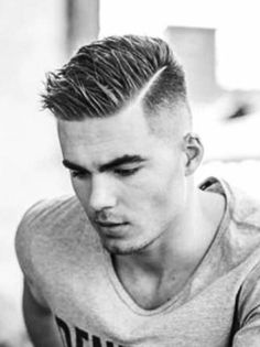 Hairstyles Men 18 pomp fade with texture Find This Pin And More On Mens Hairstyles By Ankit2287