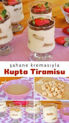 Tiramisu, Frozen Yogurt, Biscotti, Panna Cotta, Pudding, Cooking, Breakfast, Fruit, Ethnic Recipes