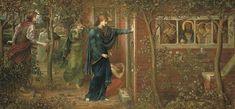 The Ten Virgins. John Melhuish Strudwick (1849-1937)
