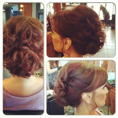 Color/Updo done by Lucy