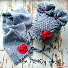 для вдохновения)мои шапочки - Вязание - Страна Мам