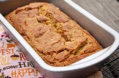 Pumpkin banana bread (low fat)