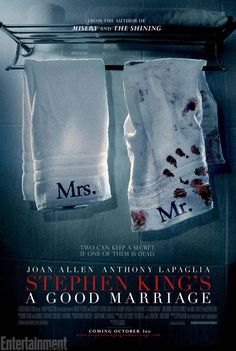 A Good Marriage movie poster, think I will love this!