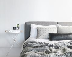 The Minimalist at home / bedroom