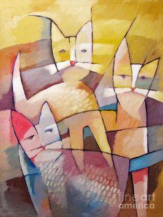Love this painting by Lutz Baar