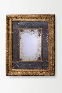 Handcut Patinated Mirror #anthropologie