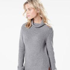 RW&CO. | Ribbed turtleneck sweater | Fall 2015