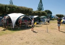 With fabulous views of the ocean, Ohope Beach TOP 10 Holiday Park offers a wide range of accommodation options, from campsites to beachfront apartments. Camping Site, Holiday Park, Beach Tops, Campsite, Outdoor Gear, Tent, Ocean, Camping, Store