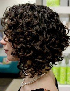 Trendy Short Hairstyles: Bouncy Curls for Short Hair
